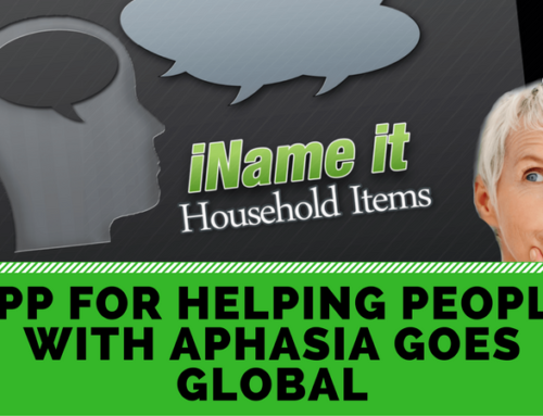 App for helping people with Aphasia goes global