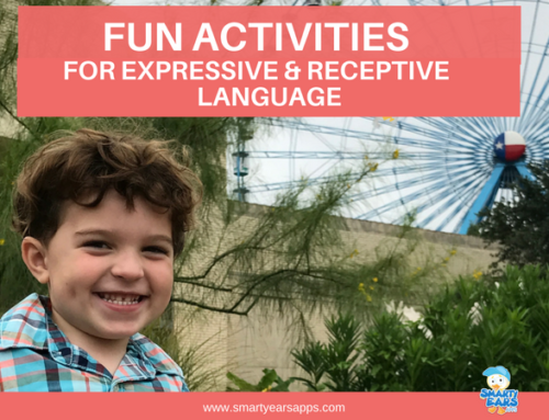 Fun Activities for Expressive and Receptive Language Development