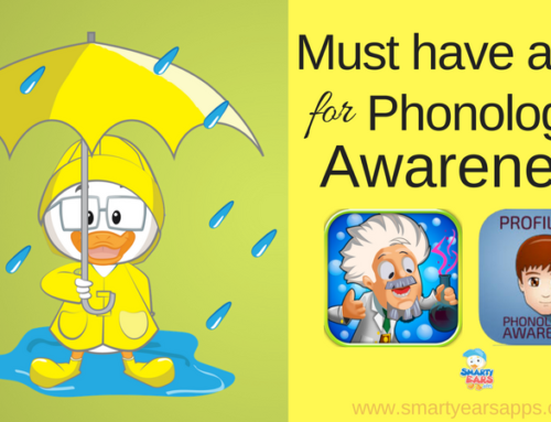 Must have apps for phonological awareness